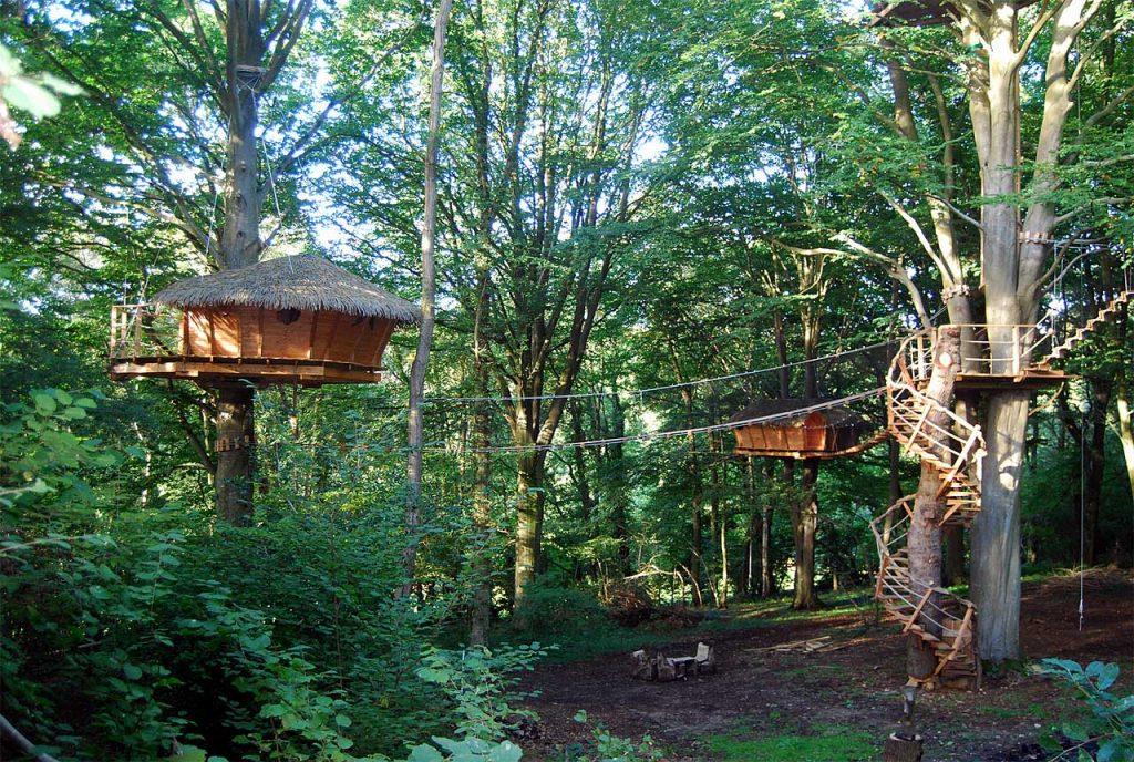 Cabane dans les arbres… Vivez l'aventure !